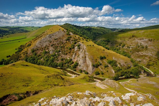 UK's Seven Natural Wonders. Dovedale, Peak District
