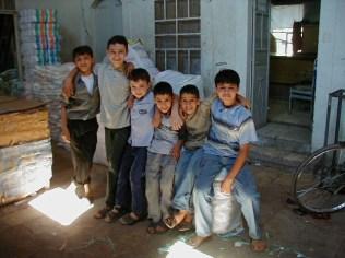 Kids in KhayrBeg han