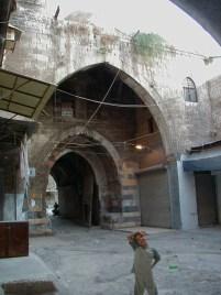 Qurdbeg han Mamluk palace entry