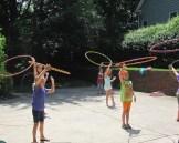 Hula Hoop Birthday Party