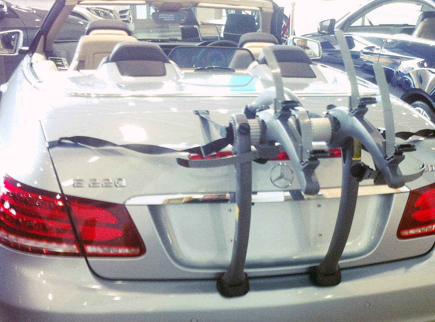 Mercedes E Class Cabriolet Bike Rack