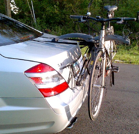 Mercedes S Class Bike Rack - Modern Arc Based Design