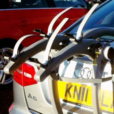 BMW Z4 Coupe Bike Rack Close