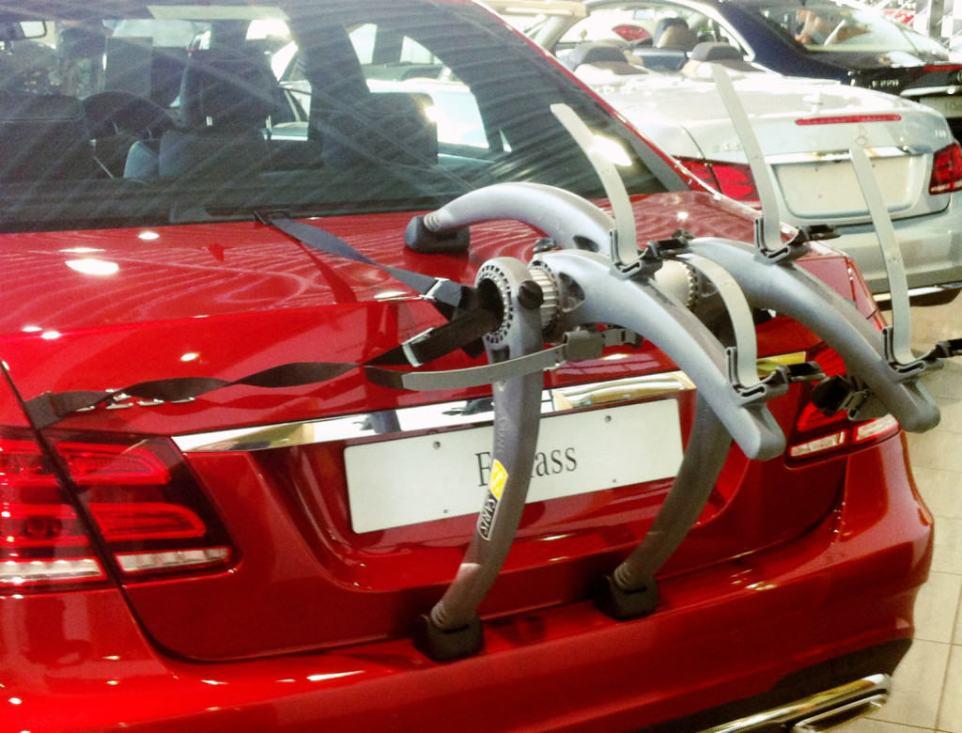 Mercedes E Class Saloon Bike Rack