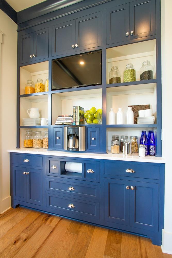 HGTV Smart Home Navy Blue Pantry