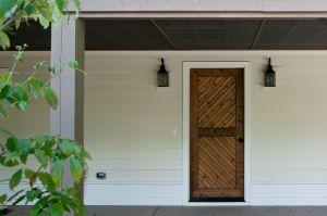 Carbine & Associate, house, wooden door