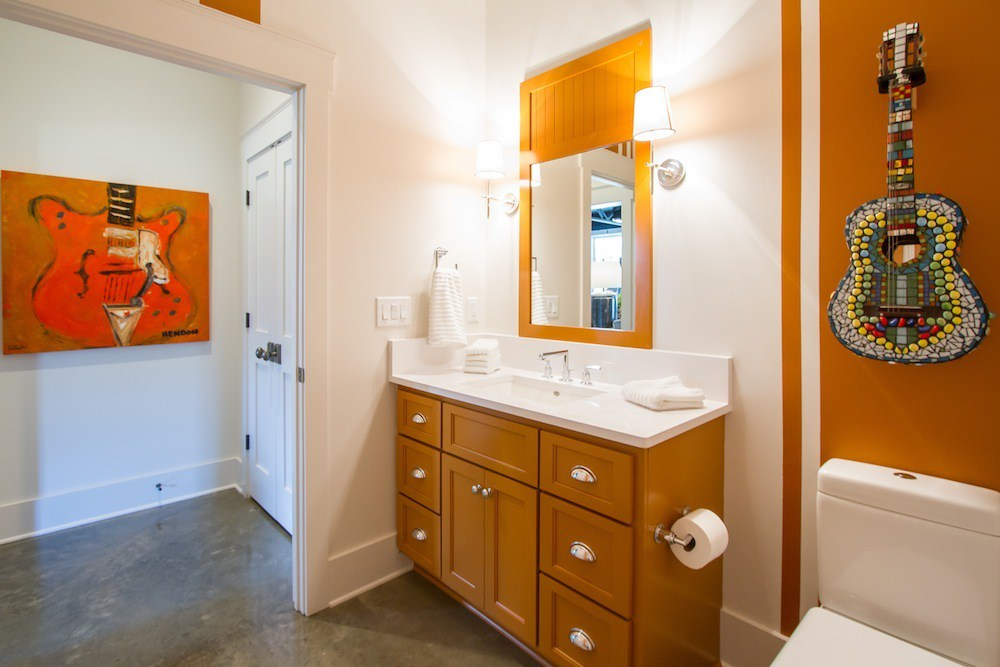 New Home Custom Bathroom by Carbine & Associates