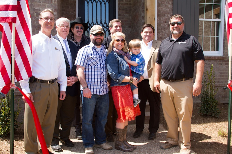 Carbine & Associates, Operation FINALLY HOME Dedication, Franklin, TN