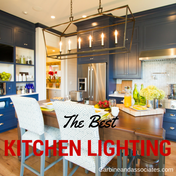 kitchen lighting choices - carbine and associates franklin