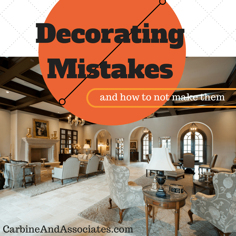 5 Decorating Mistakes