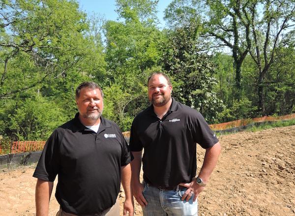 Daryl Walny, Carbine & Associates, and Kris Blalock, Blalock Homes, Franklin, TN