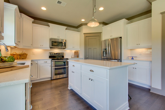 Beautiful Tollgate Village kitchen in Thompsons Station, TN, Carbine & Associates