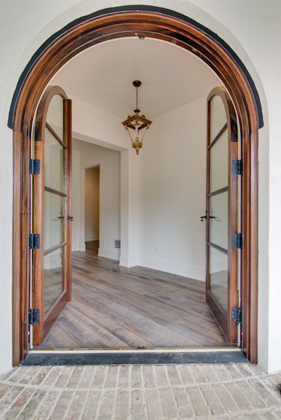 Beautiful Contemporary Tuscan Home, Front Doors, Carbine & Associates, Franklin, TN