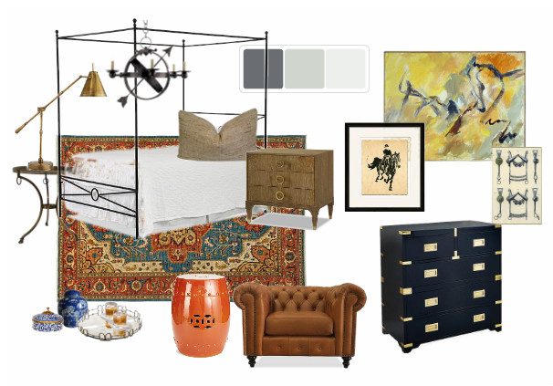 House for Hope - GUEST ROOM - Angie Forte and Jerome Farris, Peddler Interiors
