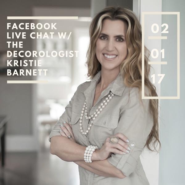 Carbine & Associates Facebook Live With The Decorologist, Kristie Barnett