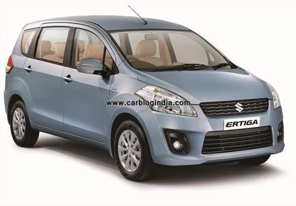 Maruti Ertiga Booking Cross 10000 Mark