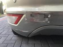 Bumper scuff on Ford Focus in Barnet