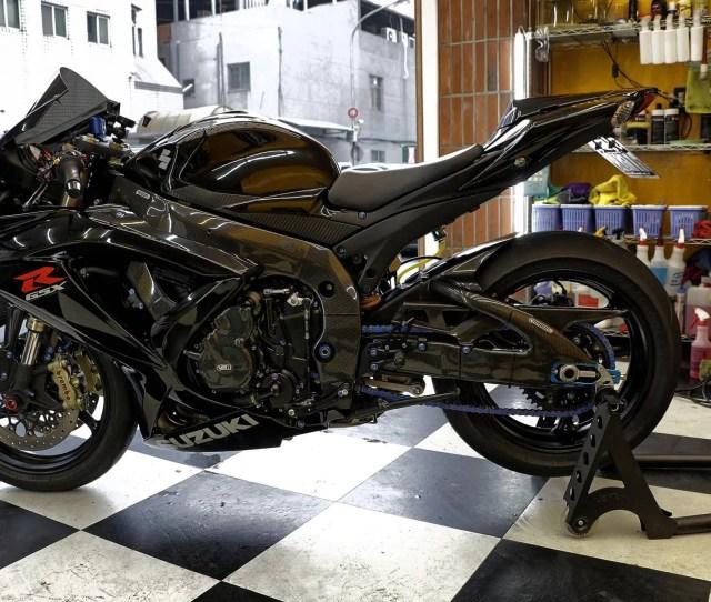 Suzuki Gsx R  2010 Carbon Fiber
