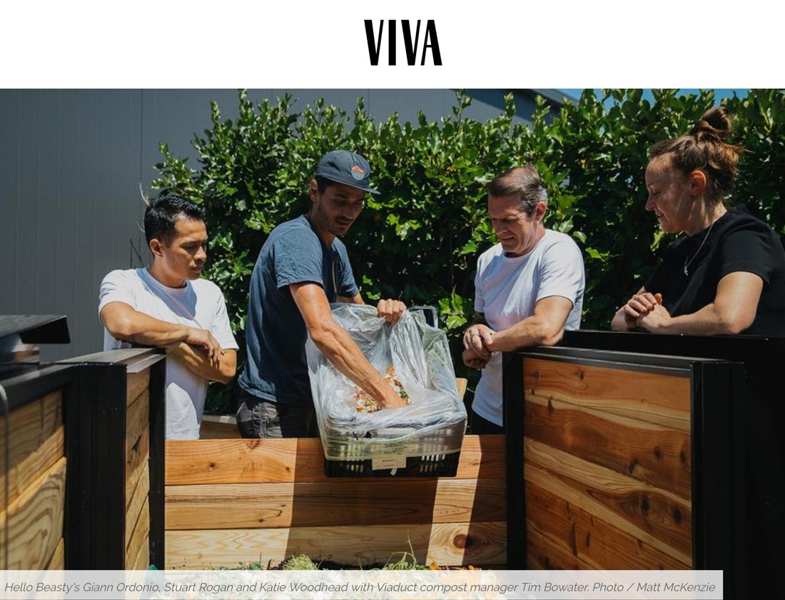 CarbonCycle Compost featured in Viva