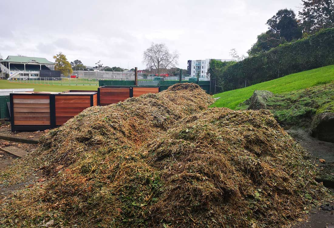 CarbonCycle Composting at Eden Park