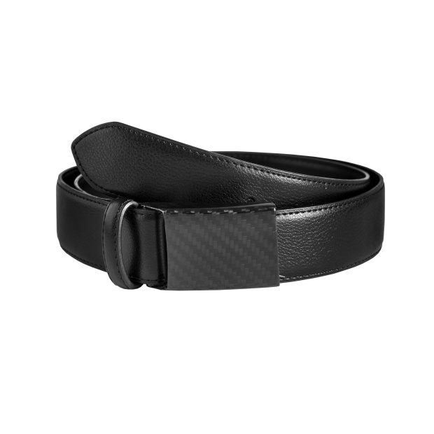 exclusive leather belt carbon design by danielsen