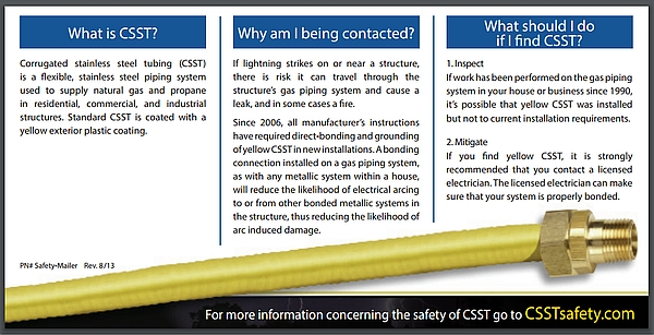 Carbon Monoxide Myths, CCST safety brochure rear