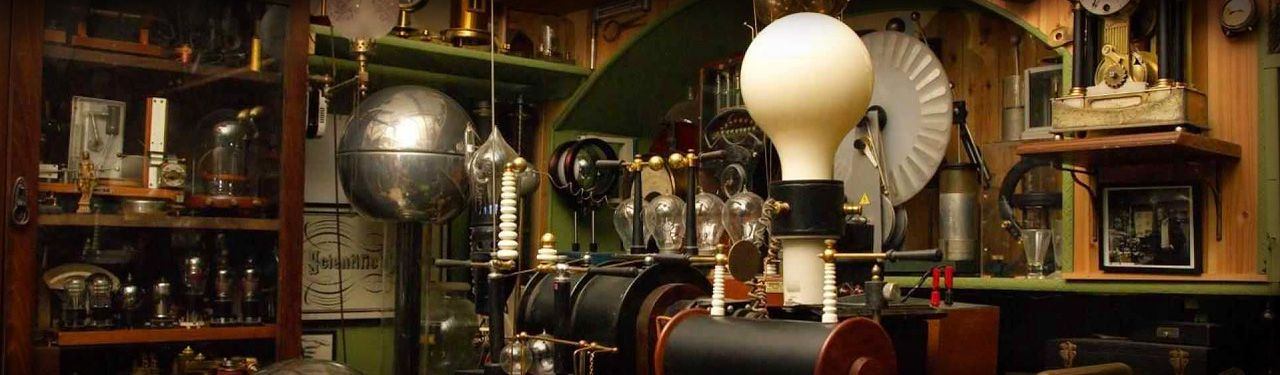Antique Electricity Generation Lab