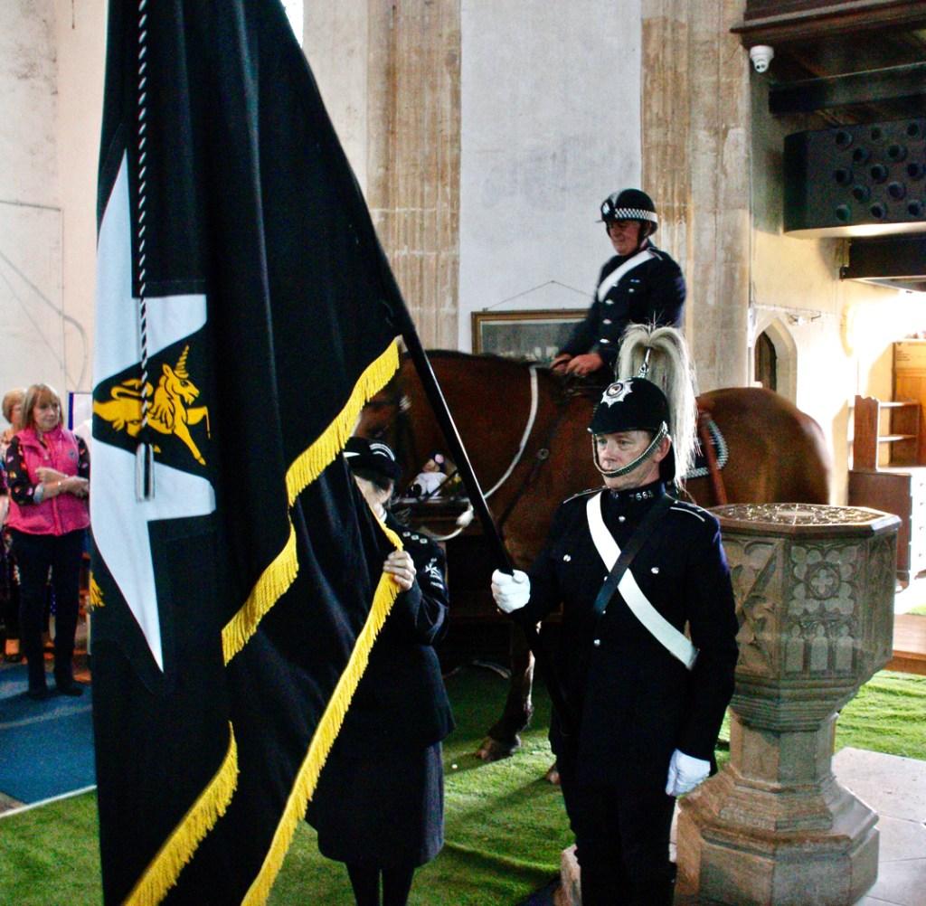 Police & Flag