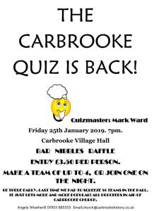 Church Quiz @ Carbrooke Village Hall