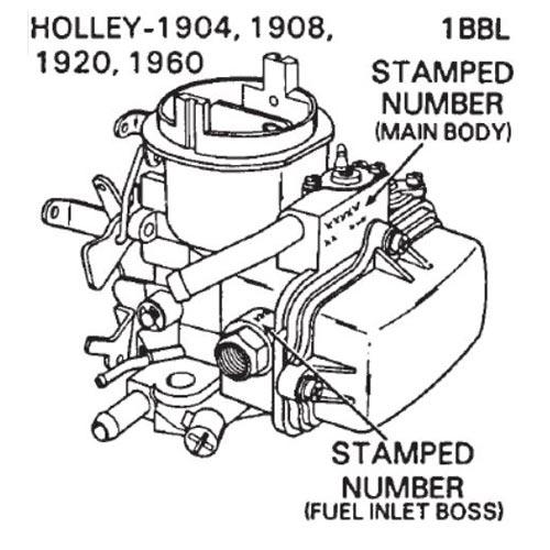 Zenith Updraft Carburetor Identification ...