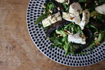 chicken-mushrrom-and-asparagus-salad