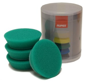 Rupes 70mm green foam pads