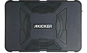 Kicker 11HS8 150W Hideaway Car Audio Powered Subwoofer Sub Enclosure