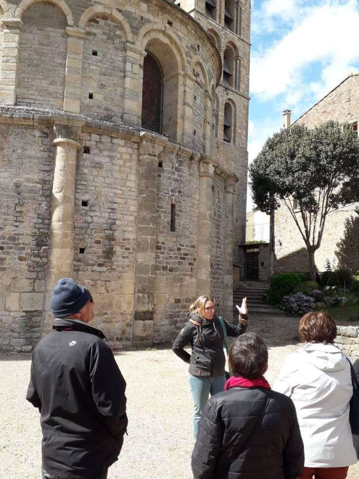Guide conférencière Anna Philippe à Caunes-Minervois