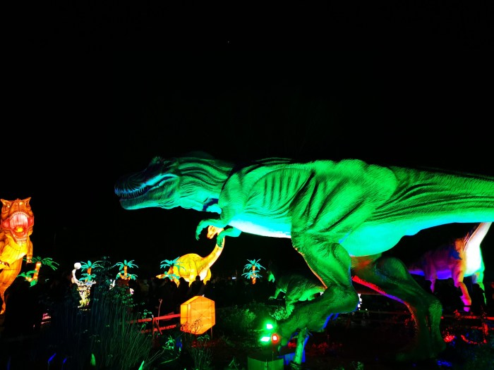 the tyrannosaur of the lantern festival
