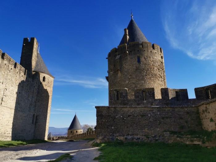 Tour de la vade cité de carcassonne