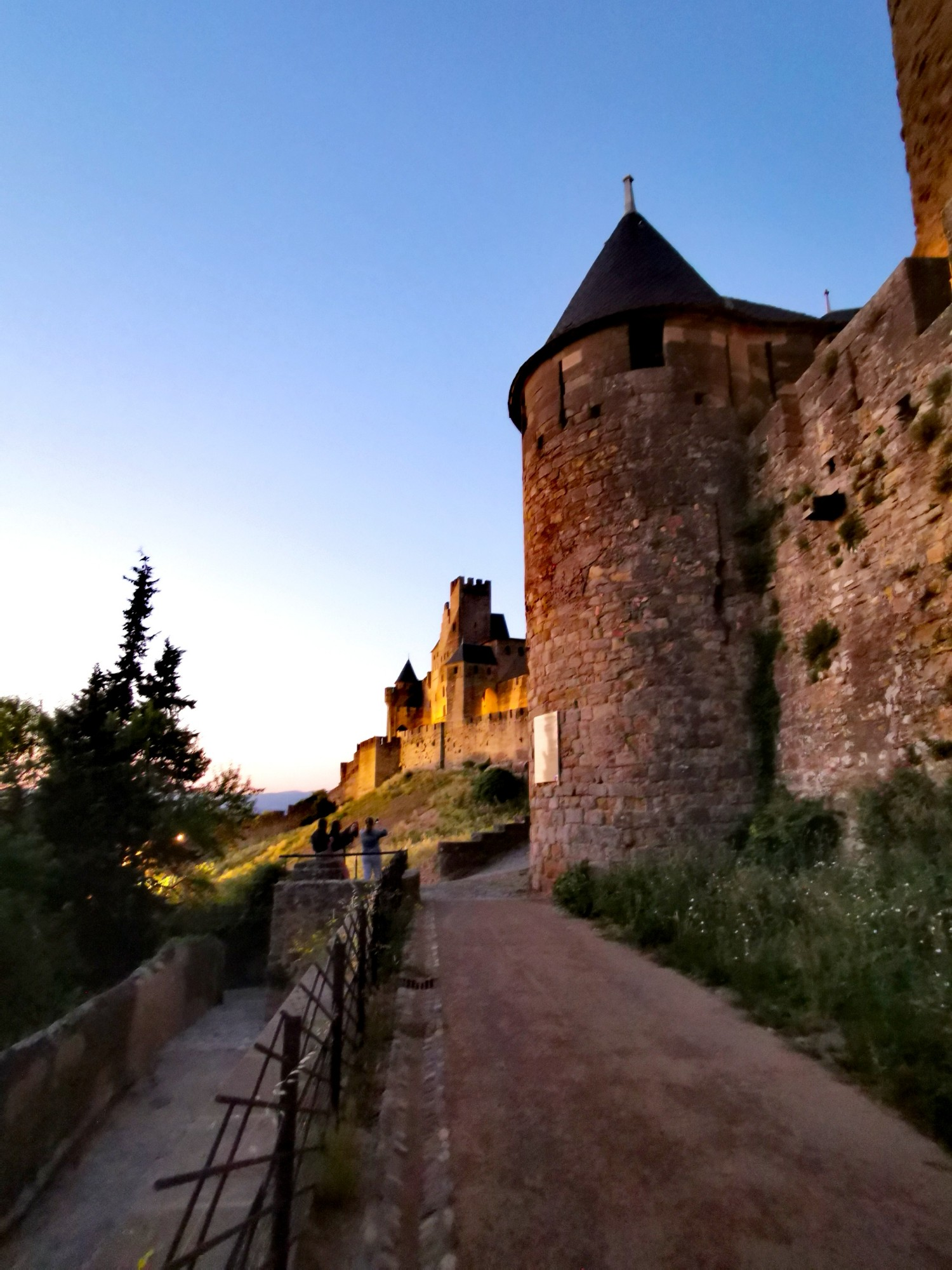 carcassonne by nigth