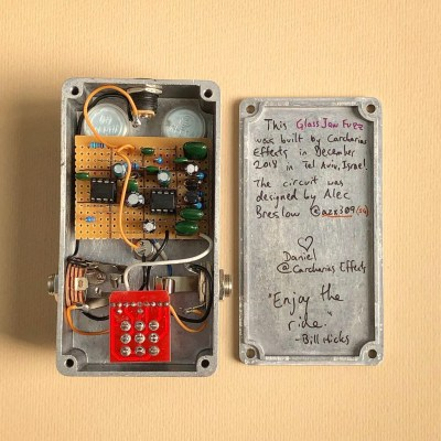 Glass Jaw Fuzz by Mask Audio Electronics gutshot