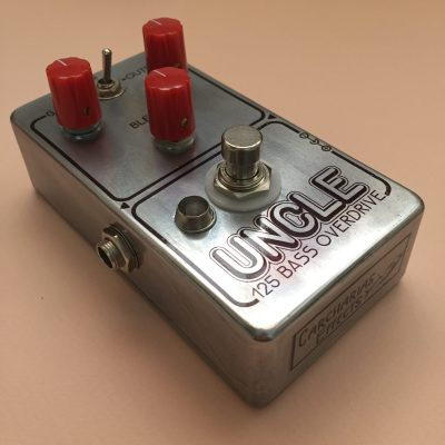 Uncle 125 Bass Overdrive super modded DOD 250 for bass front left rotated