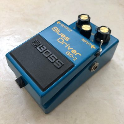 Boss BD 2 Blues Driver with KurtLives mods right 1