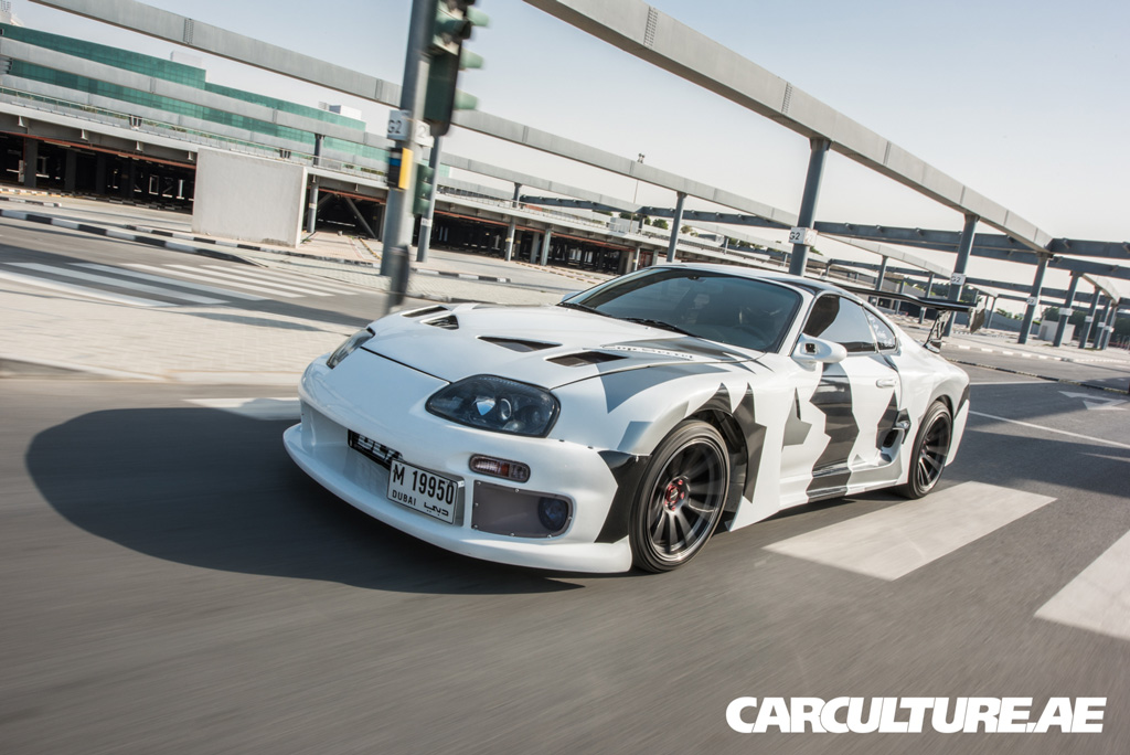 The Speed Bumps At Meydan Were Fine For The GTI Running Stock Suspension,  But For A Lowered Supra ...