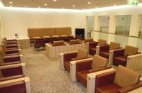 関西国際空港の空港ラウンジ「比叡」(第1ターミナルビル3階)