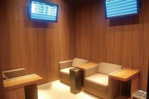 広島空港 ビジネスラウンジもみじ 喫煙室