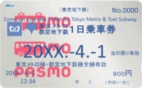 東京メトロ・都営地下鉄共通一日乗車券が値下げ+PASMO対応に 2017年4月1日から