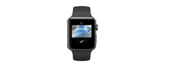 Apple Watch Series 2のApple Pay(Wallet)にビューカードを追加・設定方法