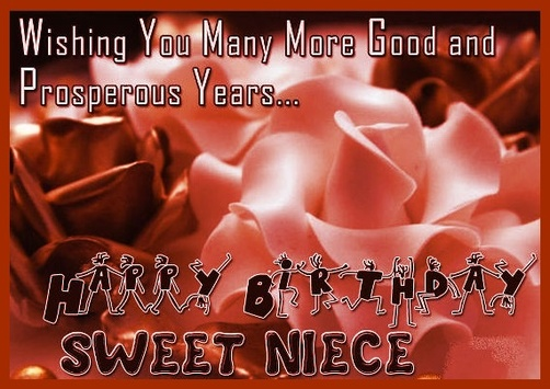 Niece Birthday Verses Card Verses Greetings And Wishes