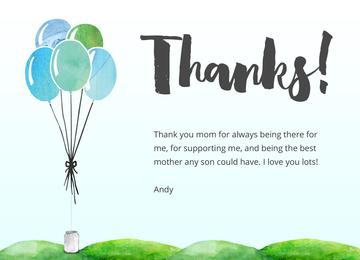 Thank You Cards Ideal For Friends And Family