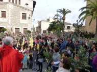 Benedicció dels Rams i Eucaristia Solemne a Sant Llorenç des Cardassar 2013001