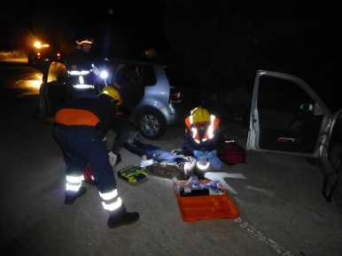 Protecció civil simulacre accident trànsit003
