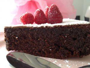pastís xocolata